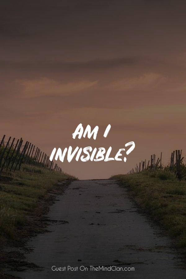 Am I invisible?   TheMindClan.com